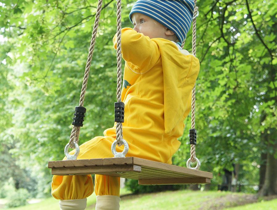 #Schaukelsitz aus #Eichenholz für #Kinder und #Erwachsene