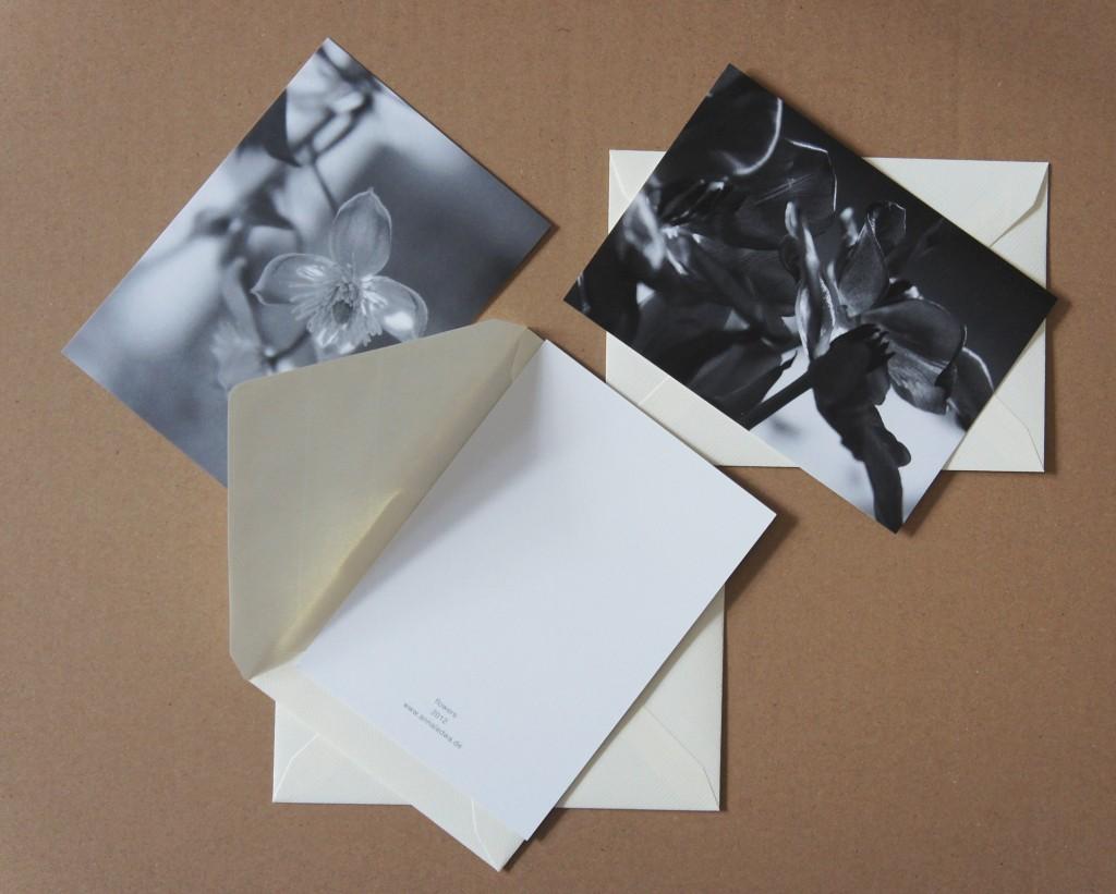 Postkarten Vorder- und Rückseite